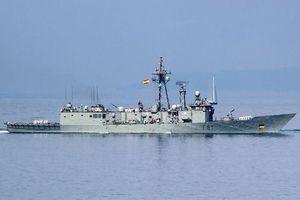 Tàu chiến của NATO cập cảng biển Poti, tham gia tập trận Lá chắn biển