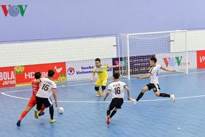 Vòng loại giải Futsal HDBank VĐQG 2019: Quảng Nam thắng chật vật