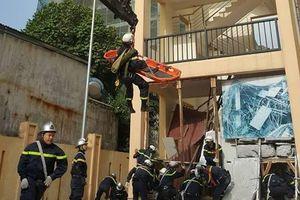Công an Hà Nội nâng cao chất lượng cho lực lượng chữa cháy và cứu nạn, cứu hộ