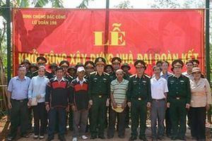 Binh chủng Đặc công hỗ trợ xây dựng nhà tặng hộ nghèo tỉnh Đắk Lắk