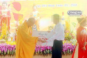 Vụ Ba Vàng ở Quảng Nam: Đại đức Thích Trúc Thái Minh có nhận tiền mặt tại buổi động thổ