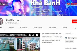 Kênh YouTube của Khá 'Bảnh' chính thức bị xóa