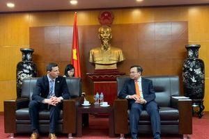 Thứ trưởng Hoàng Quốc Vượng tiếp Cơ quan Đầu tư Tư nhân Hải ngoại (OPIC)