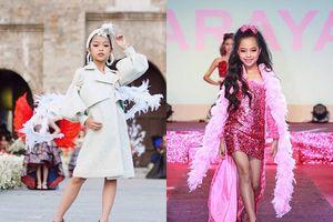 Nghệ nhân áo dài Lan Hương nhận siêu mẫu nhí làm con nuôi
