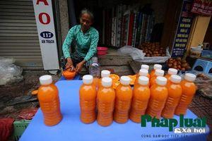 Bán nước cam nguyên chất thay bán quả, tiểu thương trúng lớn