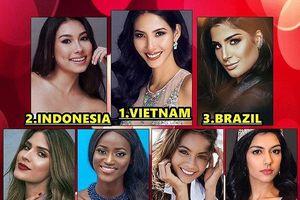 Hoàng Thùy bất ngờ được dự đoán đăng quang Miss Universe 2019