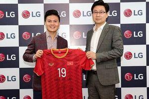 Quang Hải tiếp tục trở thành đại sứ thương hiệu của LG Việt Nam