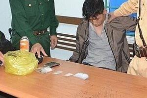 Phát hiện nam thanh niên tàng trữ ma túy