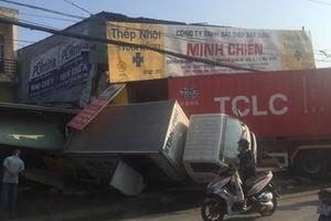 TP.HCM: Liên tiếp xảy ra tai nạn giao thông do tài xế buồn ngủ