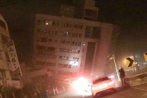 Động đất mạnh 5,7 độ Ricter tại Đài Loan (Trung Quốc)
