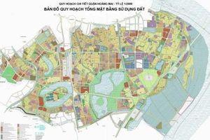 Bản đồ quy hoạch chi tiết quận Hoàng Mai