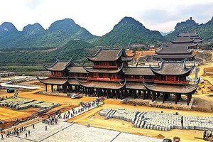 Doanh nghiệp xin khai thác đá bazan để thi công chùa Tam Chúc
