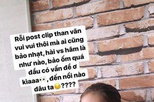 Bị mỉa mai chê bai với tần suất 'không đếm được', lần đầu tiên bạn gái Quang Hải thể hiện rõ thái độ buồn bực