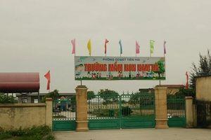 Thái Bình: Công an điều tra Phó Hiệu trưởng Trường mầm non vỡ nợ tiền tỷ