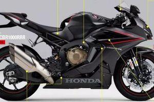 Siêu mô tô hoàn toàn mới Honda CBR1000RRR được 'hé lộ' thiết kế
