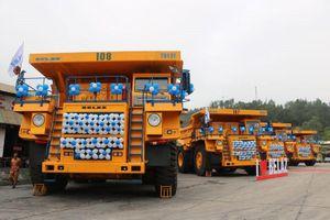Siêu xe tải BElAZ-75131 giá 35 tỷ đồng đầu tiên về Việt Nam