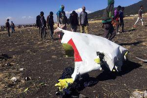 Hé lộ nguyên nhân vụ rơi máy bay 737 MAX ở Ethiopia