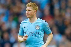 Bảng xếp hạng 5 giải quốc gia hàng đầu châu Âu: Man City lên số 1