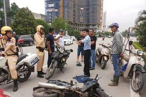Hà Nội: Truy đuổi bắt cướp, nam phóng viên bị thương