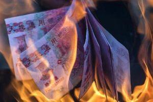 Tiền vàng mã y hệt tiền thật, Ngân hàng Trung Quốc phát đi cảnh báo lạ