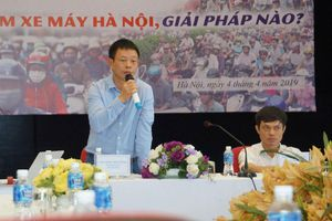 Tọa đàm 'Hạn chế xe máy tại Hà Nội' tập trung nhiều vấn đề nóng