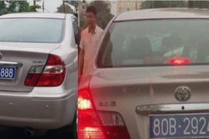Ninh Bình kết luận vụ ô tô Chủ tịch HĐND đeo hai biển xanh