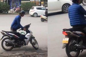 Truy lùng gã trai cầm gạch phang và ném 2 nữ nhân viên quán trà sữa ở Hà Nội