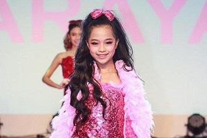 Ngắm vẻ thần thái của mẫu nhí 10 tuổi vô cùng 'hot' của làng mốt Việt