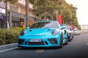 Bắt gặp Porsche 911 GT3 RS chính hãng 'màu độc' trên đường phố Sài Gòn
