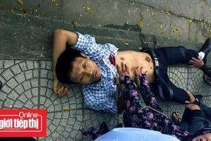 Quảng Trị: Một người đàn ông bị đâm trên đường phố, nguy kịch