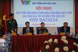 VOV Bacsi24 kết nối người bệnh với các bệnh viện quân đội