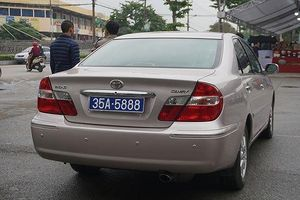 Cục Đăng kiểm nói gì về xe Camry 2 biển xanh của HĐND tỉnh Ninh Bình?