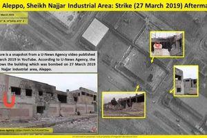 Israel tung ảnh vệ tinh chứng minh phòng không Syria thất bại trước tiêm kích F-35I