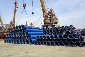 Ống gang cầu XINXING phục vụ rộng rãi trong ngành cấp nước