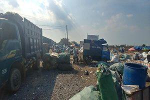 Hàng trăm hộ dân khốn đốn vì bãi rác 20 năm