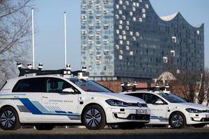 Xe tự hành - 'đặc sản' mới của đường phố Hamburg