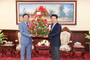 Đại sứ quán Việt Nam chúc mừng Tết cổ truyền Lào