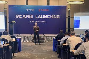 Việt Nét trở thành nhàh phân phối chính thức của McAfee