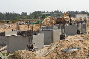 Quảng Nam: Cty DaNa Home Land xây dựng không phép 8 căn biệt thự
