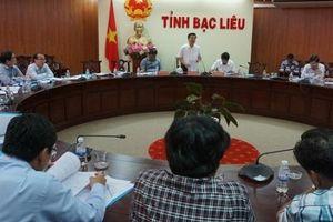 Thứ trưởng, Phó Chủ nhiệm Lê Sơn Hải dự họp Ban Tổ chức ĐH đại biểu các dân tộc thiểu số tỉnh Bạc Liêu