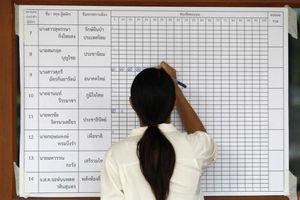 Thái Lan tiến hành bầu cử và kiểm phiếu lại tại một số địa điểm