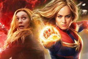 Tại sao Scarlet Witch không mạnh bằng Captain Marvel