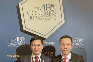 Sếp VFF tái đắc cử vào 'đầu não' Liên đoàn bóng đá châu Á