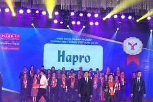 Hapro - Thương hiệu mạnh Việt Nam 2018