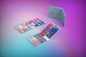 Hé lộ thông tin, hình ảnh chiếc iPhone nắp gập của Apple