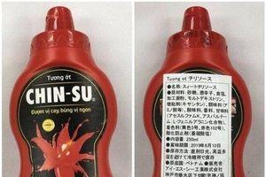 18.000 chai tương ớt Chin-Su bị thu hồi ở Nhật: Người tiêu dùng Việt lo lắng