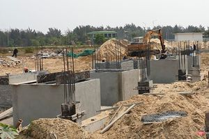 Quảng Nam: Phát hiện lô biệt thự xây dựng không phép của DanaHome Land