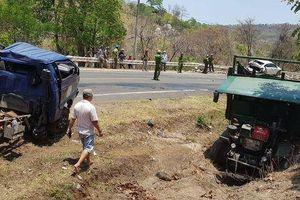 Tai nạn liên hoàn trên đèo Chư Sê, nhiều người bị thương