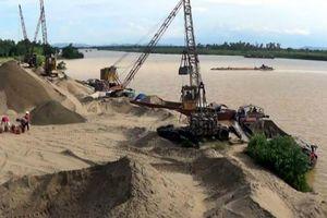 Hà Nội sẽ mở đợt cao điểm kiểm tra các điểm khai thác, tập kết cát sỏi