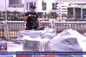 Bắt 7 tấn cocaine trong chiến dịch truy quét ma túy tại Mỹ